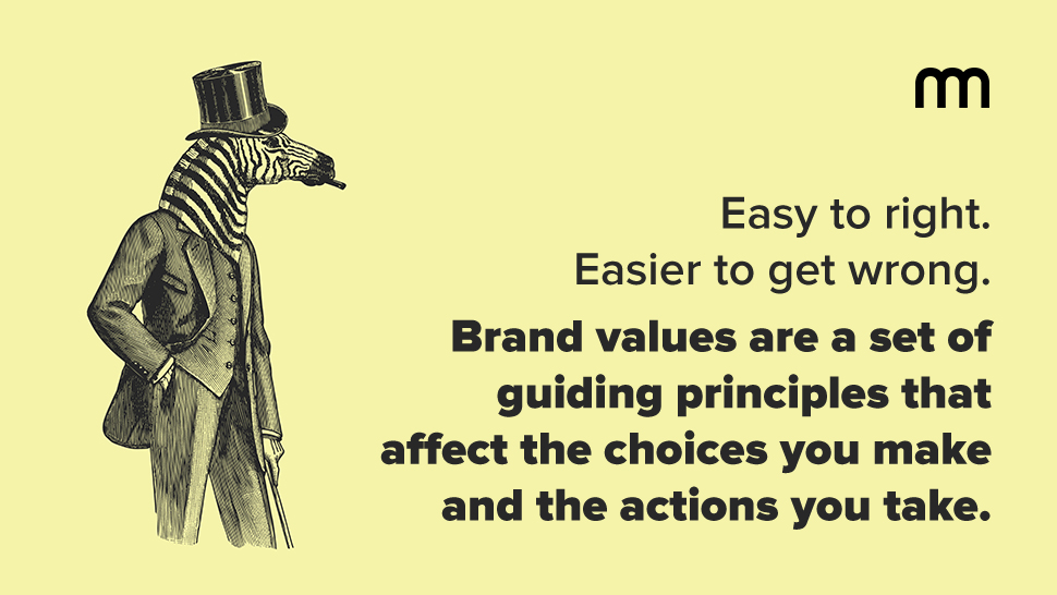 Brand Values Quote